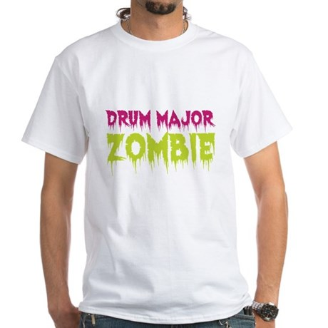 Drum Major Zombie White T-Shirt