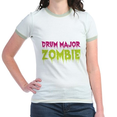 Drum Major Zombie Jr. Ringer T-Shirt