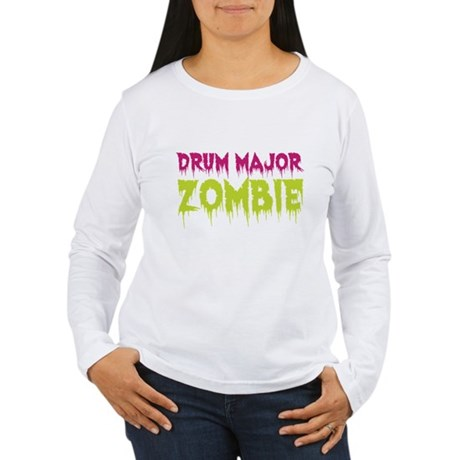 Drum Major Zombie Women's Long Sleeve T-Shirt