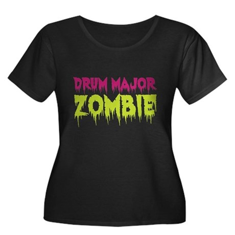 Drum Major Zombie Women's Plus Size Scoop Neck Dar