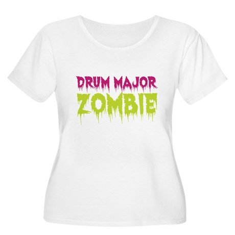Drum Major Zombie Women's Plus Size Scoop Neck T-S