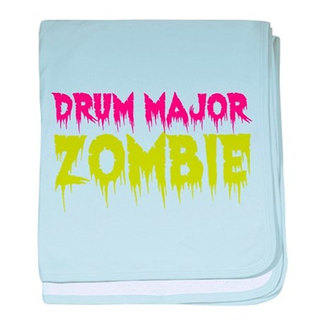 Drum Major Zombie baby blanket