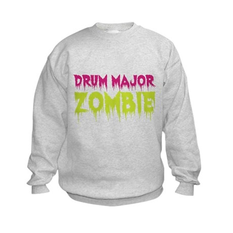 Drum Major Zombie Kids Sweatshirt
