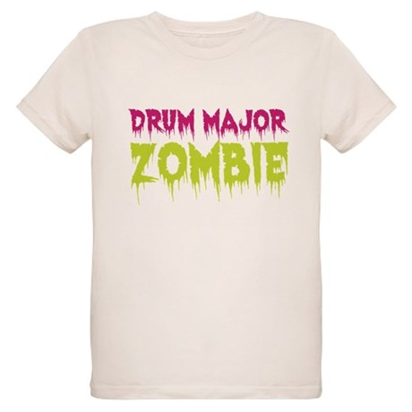Drum Major Zombie Organic Kids T-Shirt