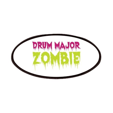 Drum Major Zombie Patches