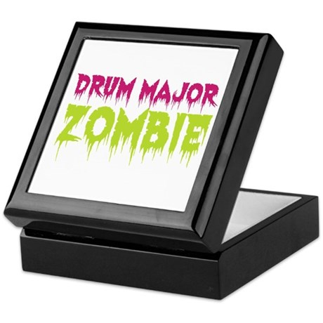 Drum Major Zombie Keepsake Box