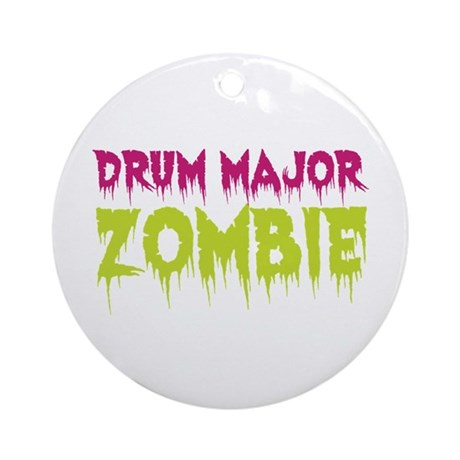 Drum Major Zombie Ornament (Round)