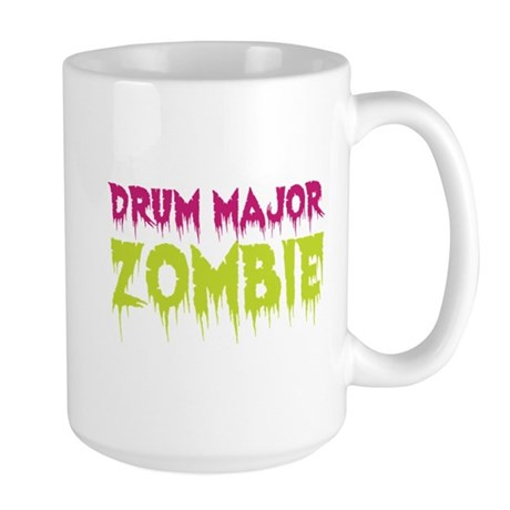 Drum Major Zombie Large Mug