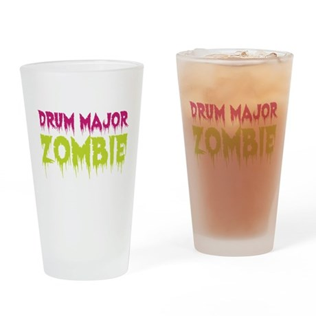 Drum Major Zombie Drinking Glass