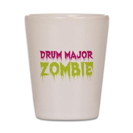 Drum Major Zombie Shot Glass