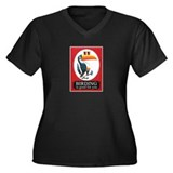 Birding Is Good For You Women's Plus Size V-Neck D