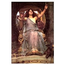 Circe offering cup to Ulysses