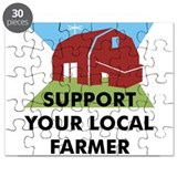Support Your Local Farmer Puzzle