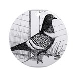 Starling Pigeon 1973 Ornament (Round)