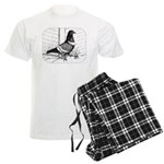 Starling Pigeon 1973 Men's Light Pajamas
