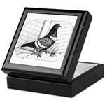 Starling Pigeon 1973 Keepsake Box