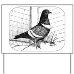 Starling Pigeon 1973 Yard Sign