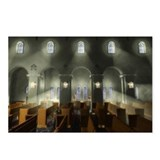 3D Church Interior Postcards (Package of 8)