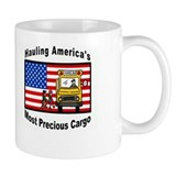 School Bus Precious Cargo Coffee Mug
