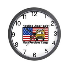 School Bus Precious Cargo Wall Clock