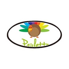 Paulette the Turkey Patches