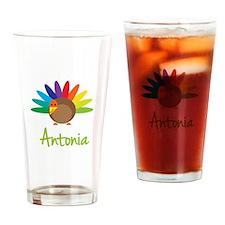Antonia the Turkey Drinking Glass