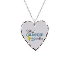 Proud Coastie Mom Necklace