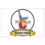 WORLDS GREATEST BUNGEE JUMPER Large Poster