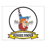 WORLDS GREATEST BUNGEE JUMPER Small Poster