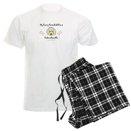 labradoodle gifts Men's Light Pajamas