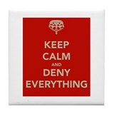 Unique Keep calm Tile Coaster