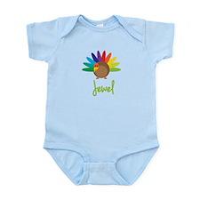 Jewel the Turkey Infant Bodysuit