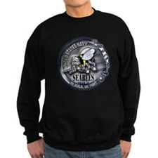 USN Seabees We Build We Fight Sweatshirt