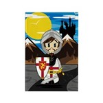 Cute Medieval Knight Magnet (10 Pk)
