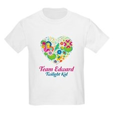 Twilight Mom Floral Heart T-Shirt