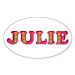 Julie Sticker (Oval)