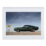 Unique Mustang Wall Calendar