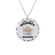 Proud New Mommy Personalized Necklace