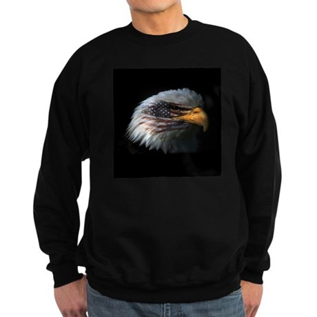 American Flag Eagle Sweatshirt (dark)