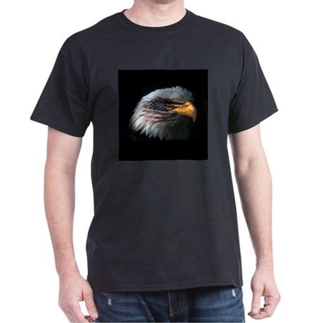 American Flag Eagle Dark T-Shirt