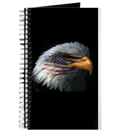 American Flag Eagle Journal