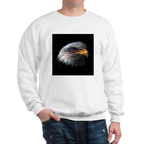 American Flag Eagle Sweatshirt