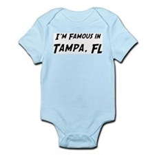 Famous in Tampa Infant Creeper