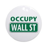 Occupy Wall Street Ornament (Round)