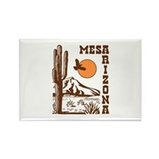 Mesa Arizona Rectangle Magnet