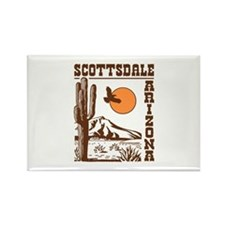 Scottsdale Arizona Rectangle Magnet