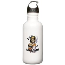Zeus God of Awesome Water Bottle