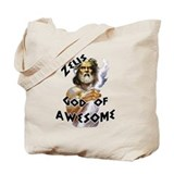 Zeus God of Awesome Tote Bag