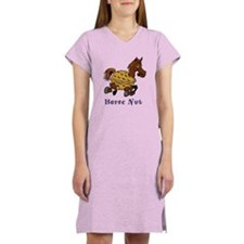 Horse Nut Women's Nightshirt