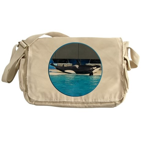 Helaine's Orca (Killer Whale) Messenger Bag